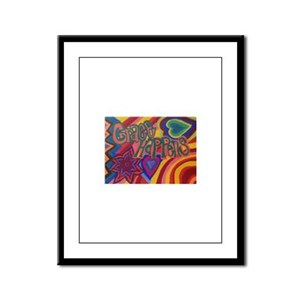 Grace Happens Framed Panel Print