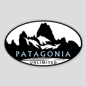 Patagonia Unlimited Sticker (oval)