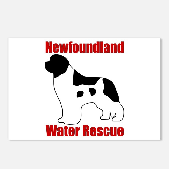 Landseer Water Rescue Postcards (Package of 8)