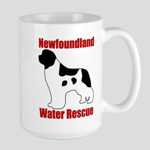 Landseer Water Rescue Large Mug