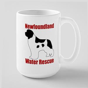 Landseer Water Rescue Large Mug