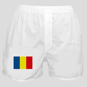 Romania Flag Boxer Shorts