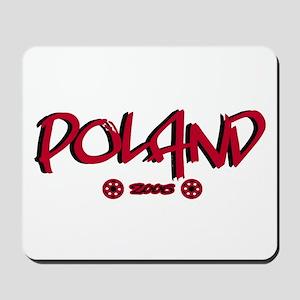 Poland World Cup Soccer Urban Mousepad