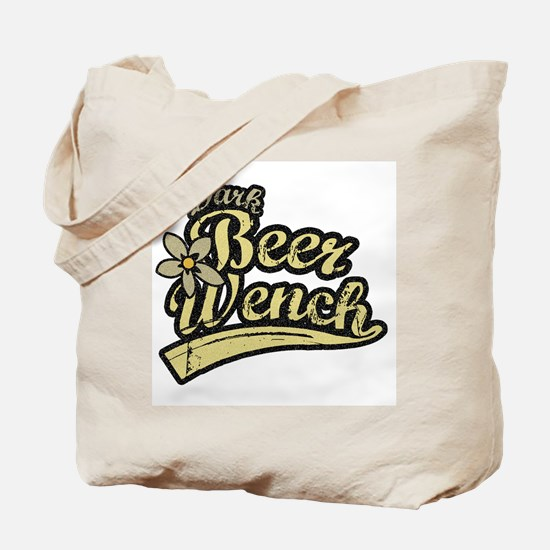 Dark Beer Wench Tote Bag