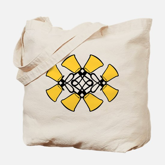 Twined Bells Tote Bag