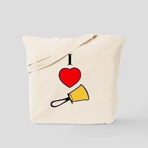 I Love Bells Tote Bag