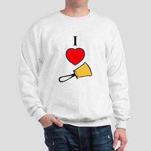 I Love Bells Sweatshirt