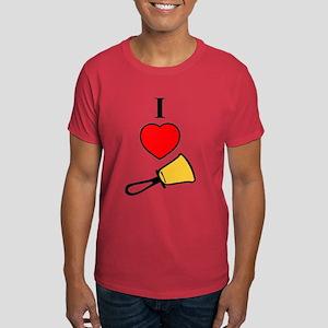 I Love Bells Dark T-Shirt