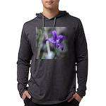 Blue-Eyed Grass Flower Long Sleeve T-Shirt