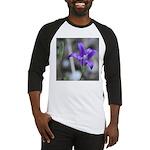 Blue-Eyed Grass Flower Baseball Jersey