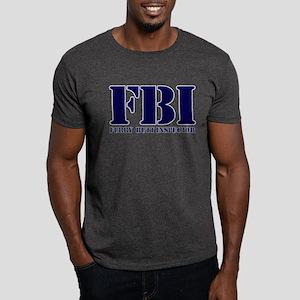 FBI (Furry Butt Inspector) (blue print) T-Shirt
