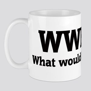 What would Berny do? Mug