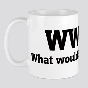 What would Benjamin do? Mug