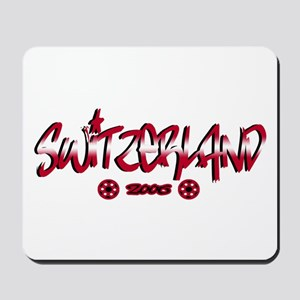 Switzerland World Cup Soccer Urban Mousepad