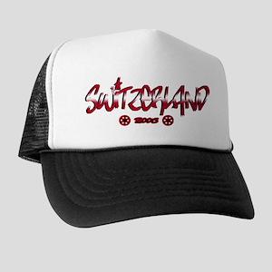 Switzerland World Cup Soccer Urban Trucker Hat