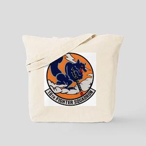 18th Fighter Squadron Tote Bag