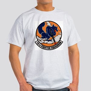 18th Fighter Squadron Ash Grey T-Shirt