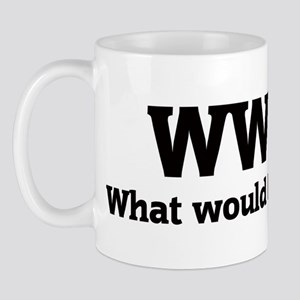 What would Benedict do? Mug