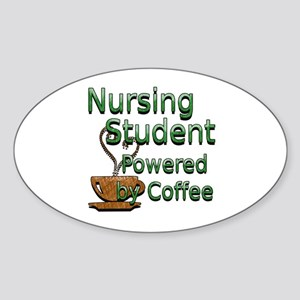 coffee nursing student Sticker