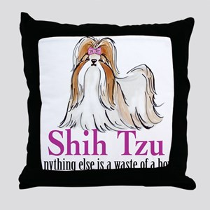 Shih Tzu Elite Throw Pillow
