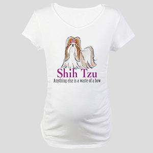 Shih Tzu Elite Maternity T-Shirt