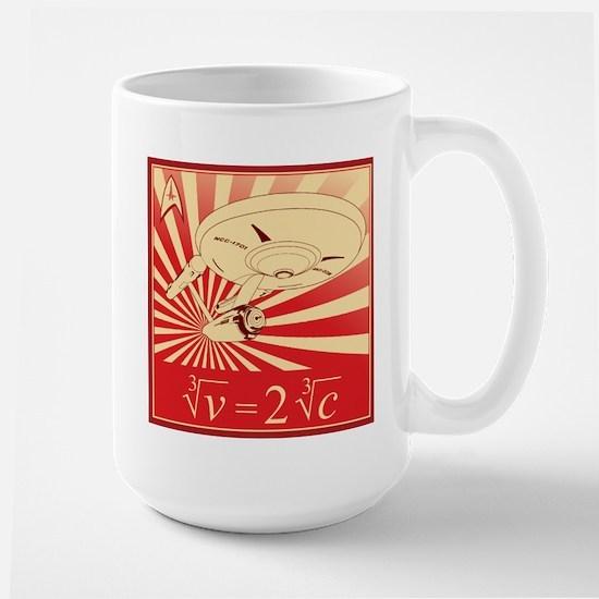 Warp Large Mug