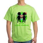 Stop Global Warming Green T-Shirt