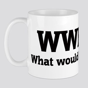 What would Barak do? Mug