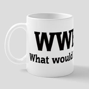 What would Bailet do? Mug