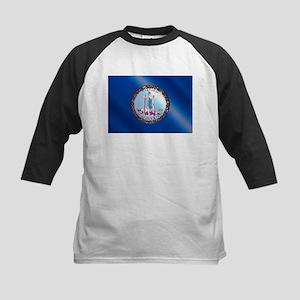 Flag of Virginia Gloss Baseball Jersey