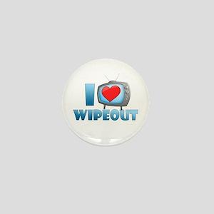 I Heart Wipeout Mini Button