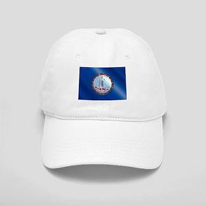 Flag of Virginia Gloss Cap