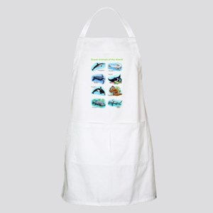 Ocean Animals of the World Apron