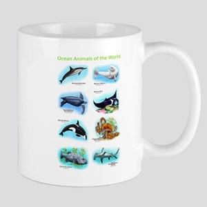 Ocean Animals of the World Mug