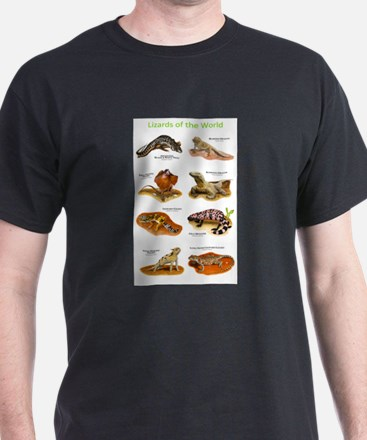 Lizards of the World T-Shirt