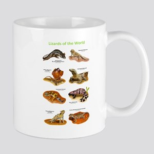 Lizards of the World Mug