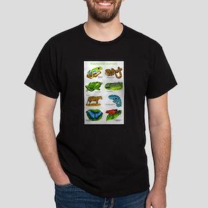 Rainforest Animals Dark T-Shirt