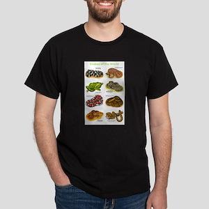 Snakes of the World Dark T-Shirt