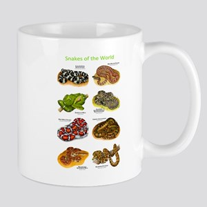 Snakes of the World Mug