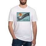 Star Trek Holodeck Fitted T-Shirt