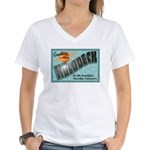 Star Trek Holodeck Women's V-Neck T-Shirt