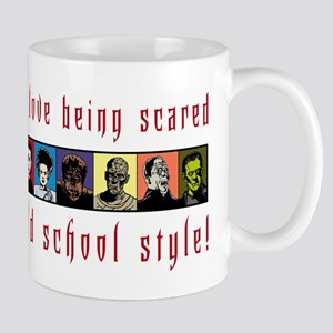 Old School Scared Mug