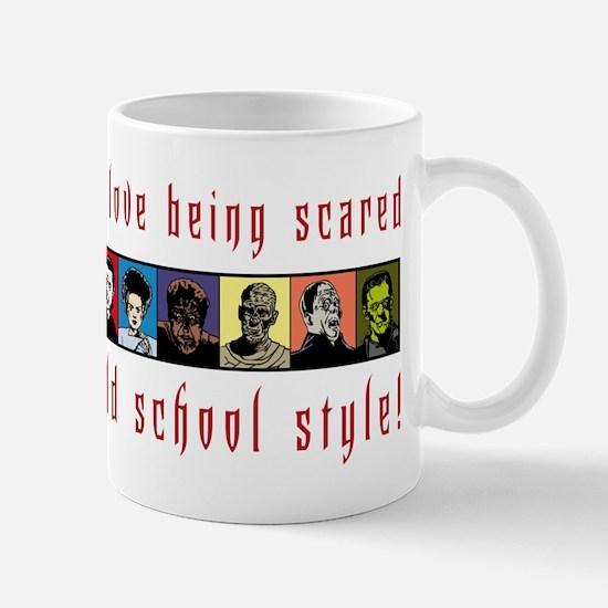 Old School Scared Mug