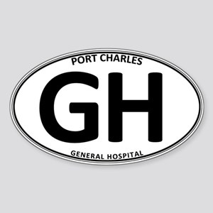 General Hospital - GH Oval Sticker (Oval)