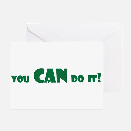 You can Do it copy Greeting Cards