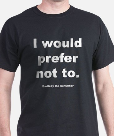 Bartleby Black T-Shirt