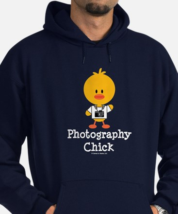 Photography Chick Hoodie (dark)