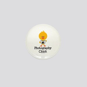 Photography Chick Mini Button
