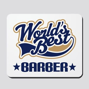 Worlds Best Barber Mousepad