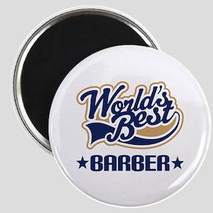 Worlds Best Barber Magnet